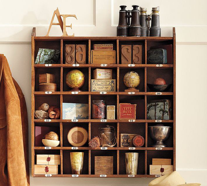 Keep Essentials in a Cubby