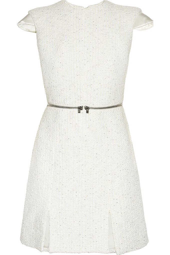 Alexander McQueen bouclé-tweed mini dress ($514, originally $3,425)