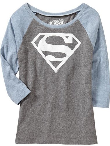 Women's DC Comics Supergirl™ Raglan Tees