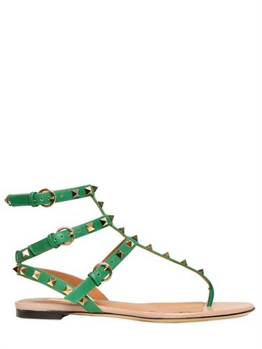 Valentino - 10mm Rock Stud Sandals