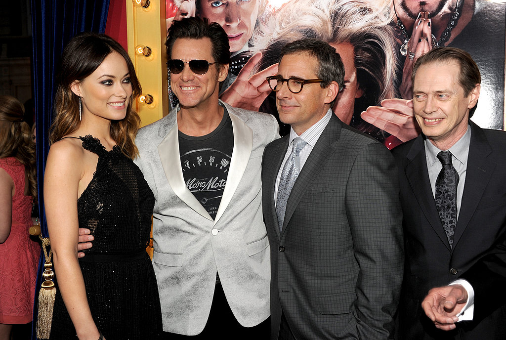 Olivia Wilde Premieres Burt Wonderstone With a Little Help From Jason Sudeikis