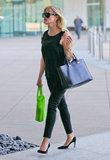 Reese Witherspoon Wears All Black For an LA Business Meeting