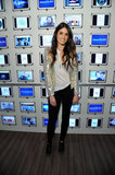 Nikki Reed showed off a cool-girl take on metallics while hosting the Samsung Galaxy Experience.