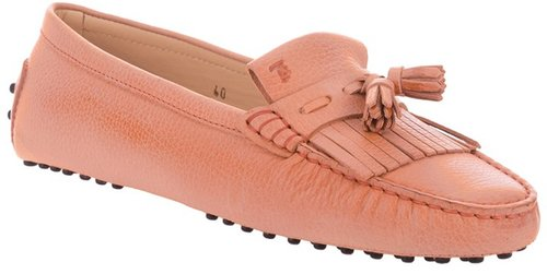 Tod's fringed loafer