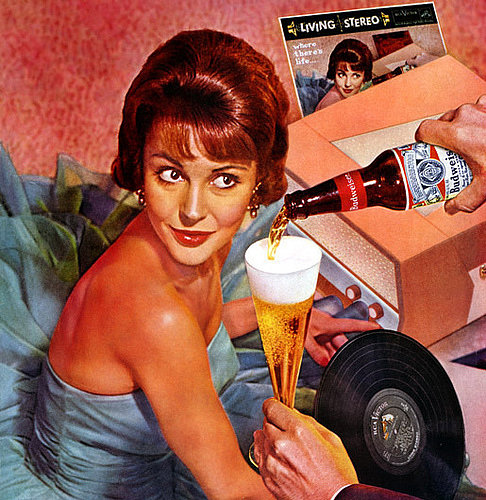 Just listening to some records and enjoying a brewski.
