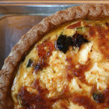 Vegetarian Mediterranean Quiche Recipe