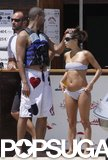 Eva Longoria and Tony Parker visited Saint-Tropez in June 2009.
