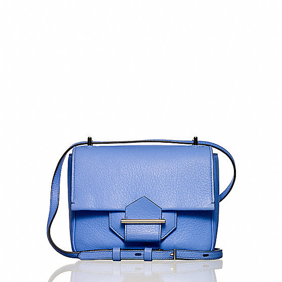 Reed Krakoff's Standard mini shoulder bag ($590) is the easiest (and chicest) way to add a pastel touch to all of your Spring ensembles.