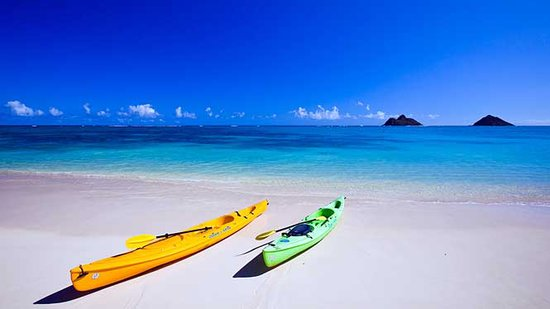 Kayak From Lanikai Beach to the Mokulua Islands