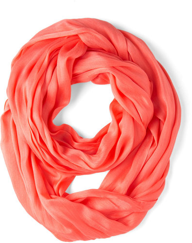 Brighten Up Circle Scarf in Sunset