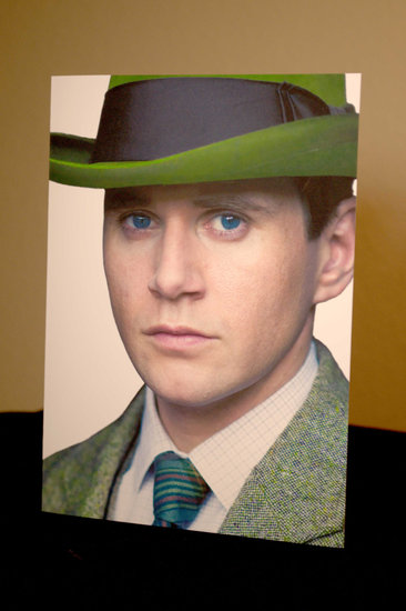 Downton Abbey St. Patrick's Day Tom Branson Card ($5)