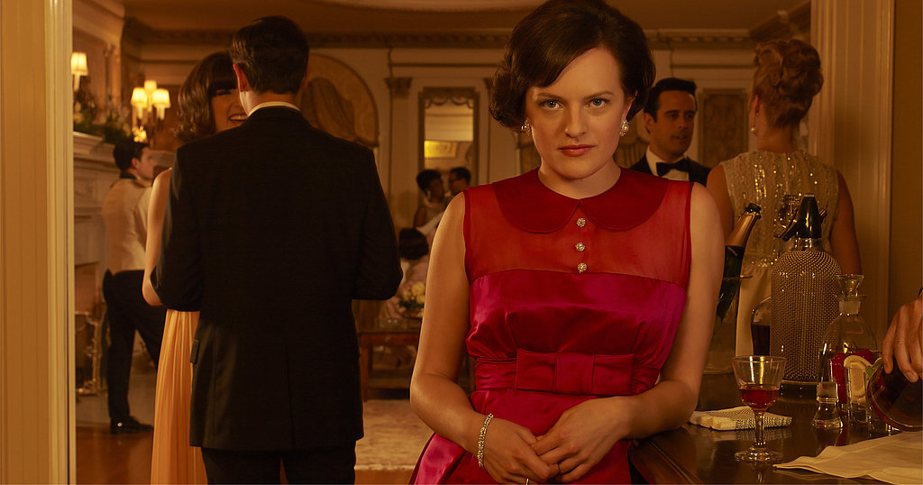 Elisabeth Moss on Mad Men.