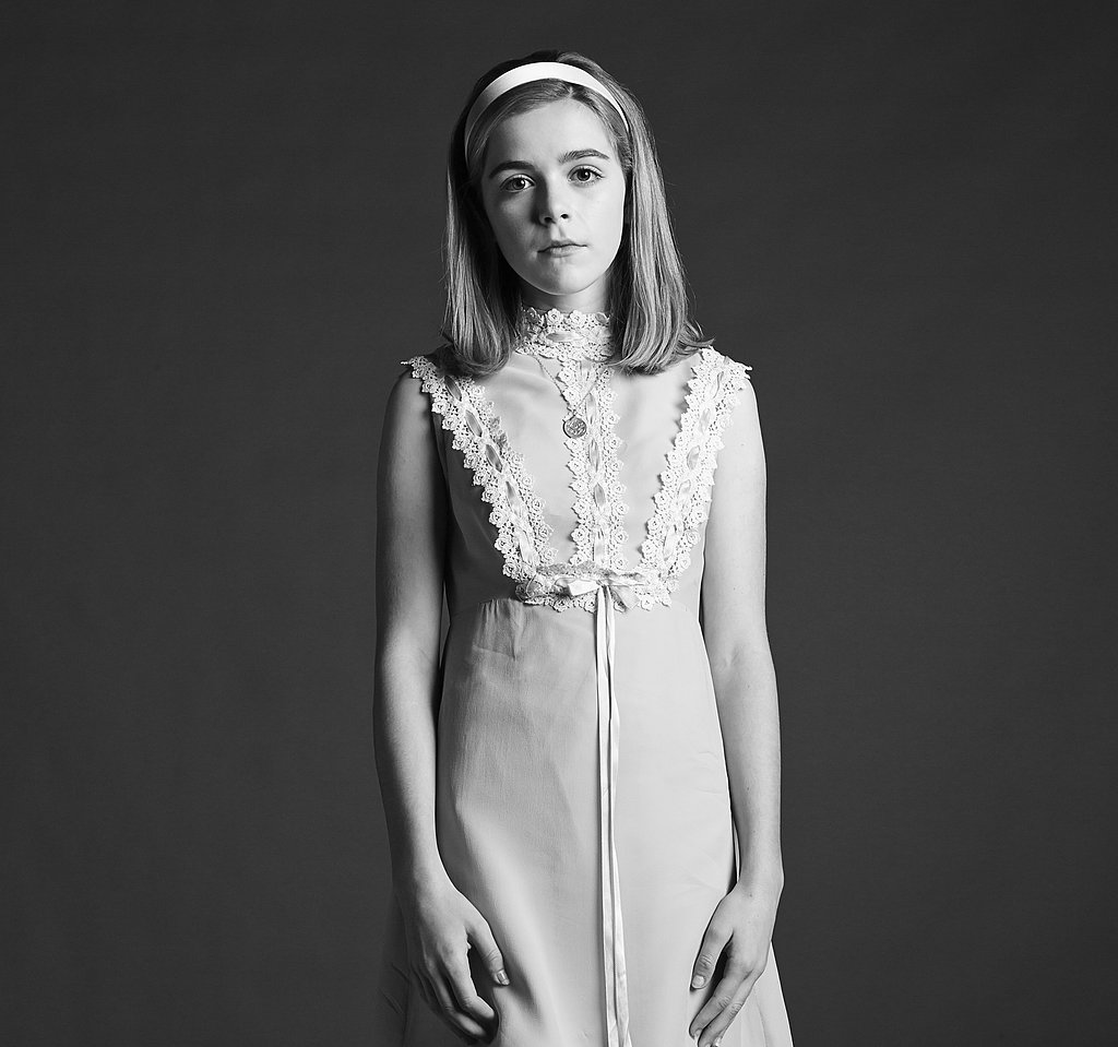 Kiernan Shipka on Mad Men.