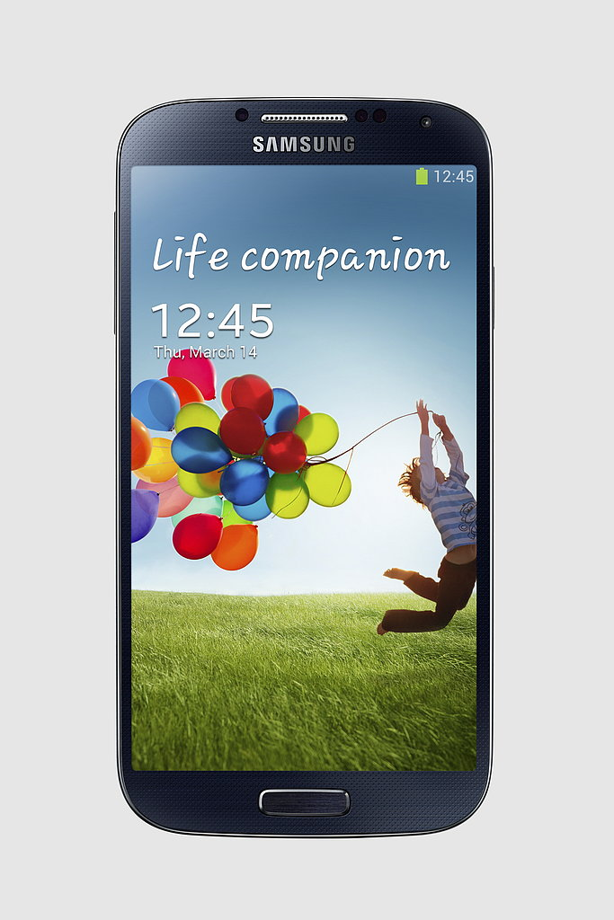 The Samsung Galaxy S4 will also be available in Black Mist. Additional color options will come out later this year.