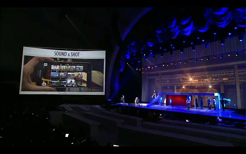 Clearly, Samsung is upping its photo game. Sound and Shot will capture photos and ambient sounds together.