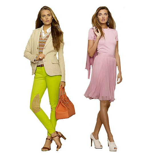 Ralph Lauren Brightens Up For Spring