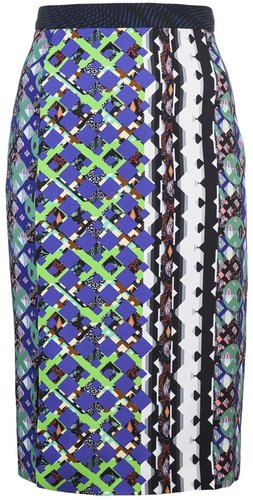 Peter Pilotto Cleo print skirt