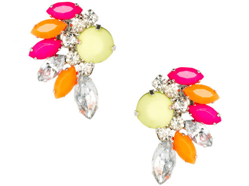 ASOS Multipack Neon Ear Cuffs