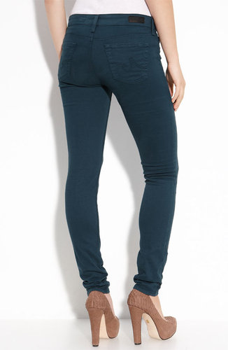 AG Jeans 'Stilt' Skinny Leg Stretch Denim Jeans (Dark Teal Wash)