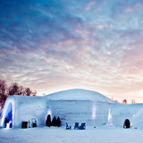 Montreal, Canada: Ice Hotel in the Snow Village