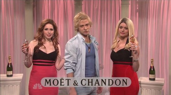 Moët & Chandon SNL Skit