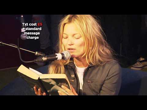 Kate Moss Reads Fifty Shades of Grey