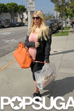 Jessica Simpson Preps For Her Baby Boy and a Big Weekend