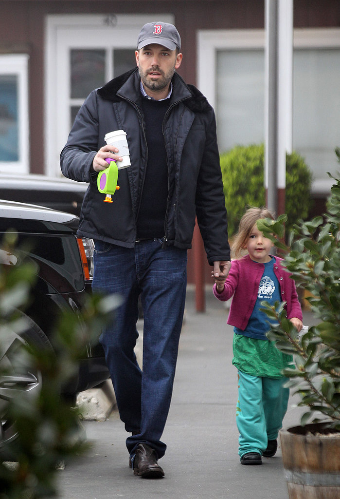 Ben Affleck took Seraphina out for breakfast.