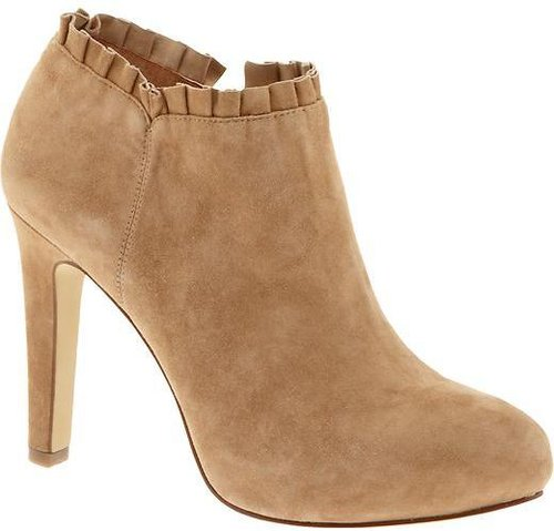 Sydney ruffle bootie