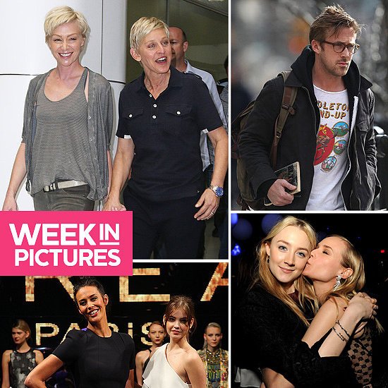 The Week in Pictures: Ellen & Portia, Ryan Gosling, Diane Kruger, Megan Gale & More!