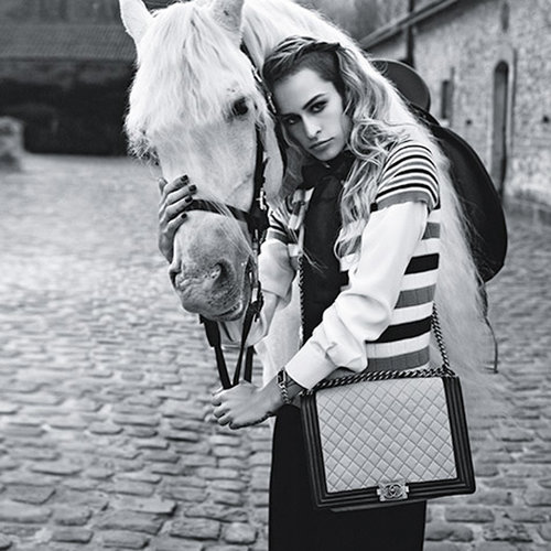 Chanel Boy Bags Spring 2013 Starring Alice Dellal
