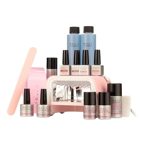Makeup artist Mally Roncal is breaking into the nail arena with her Mally Beauty 24/7 Gel Nail Polish System ($182). This all-inclusive kit comes with 17 different pieces, including four nail colors and a carrying case.