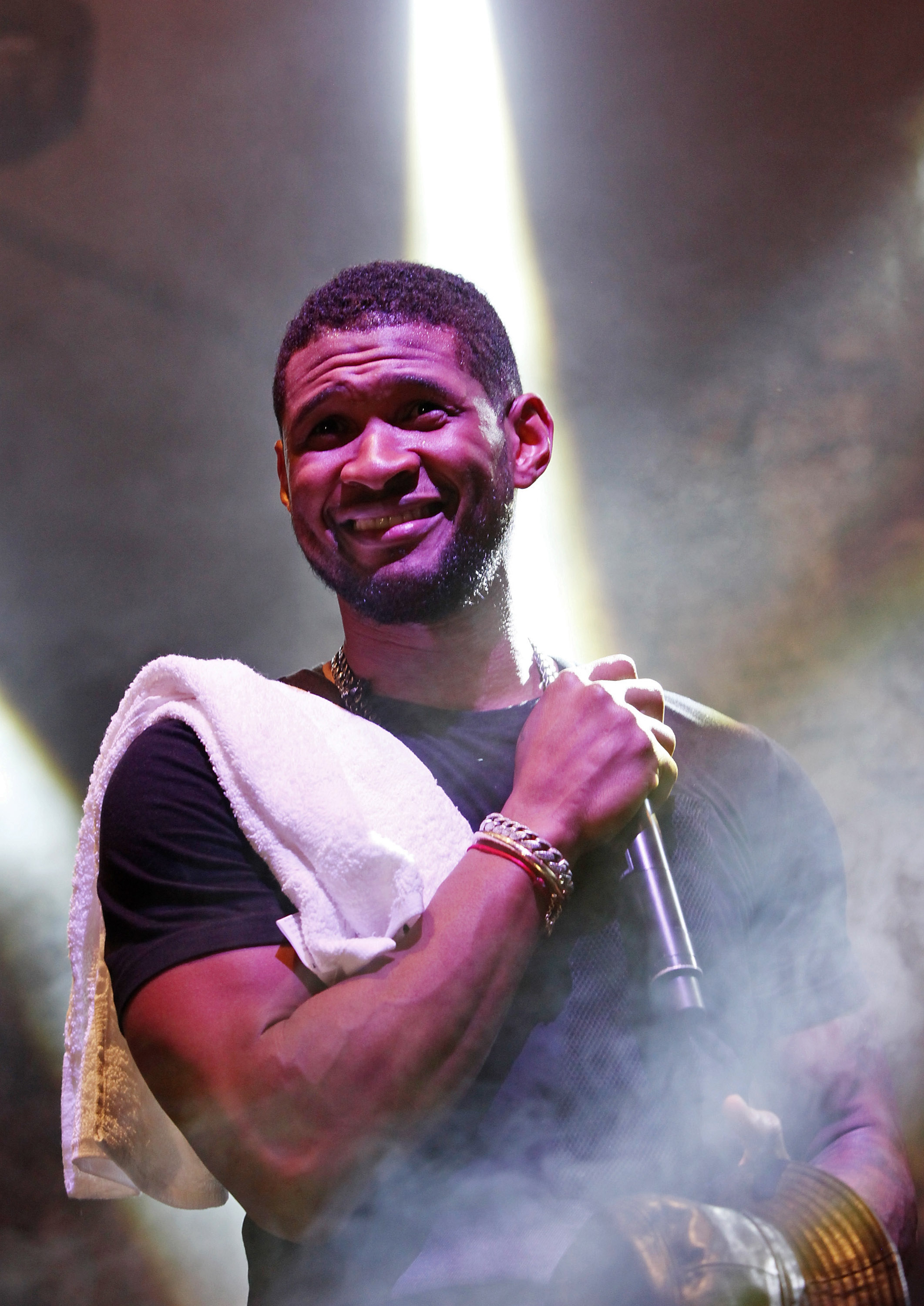 Usher performed at Converse's SXSW party.