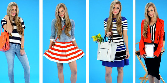 Channel Spring's Bold Striped Trend With These Chic Looks
