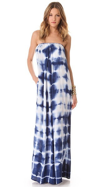 Young Fabulous & Broke Karissa Strapless Maxi Dress