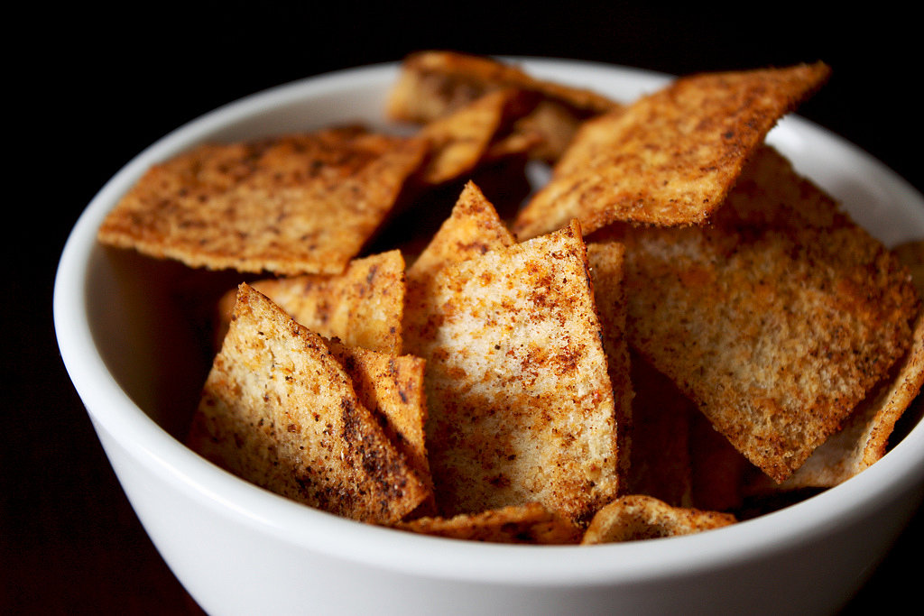 Crunchy: Whole Wheat Pita Chips