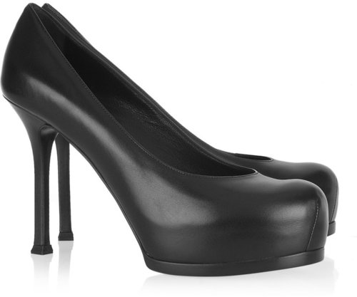 Saint Laurent Tribute Two leather pumps