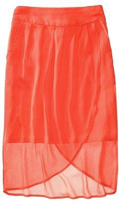 Mossimo® Women's Chiffon Tulip Wrap Skirt - Assorted Colors