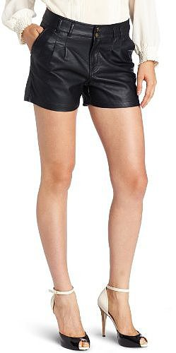 D.E.P.T. Women's Washed Leatherlook Short