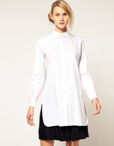 Cacharel Tunic Shirt with Long Back