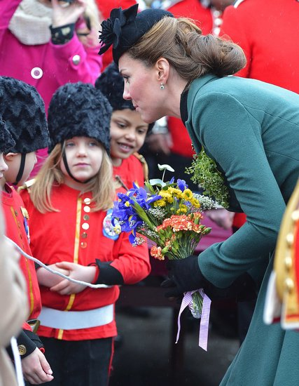 Kate Middleton's Elaborate St. Patrick's Day Up 'Do