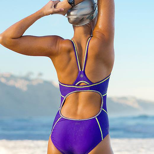 Athleta Dive In Medley One-Piece
