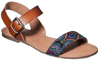 Women's Mossimo Supply Co. Lakitia Flip Flop - Blue Bead