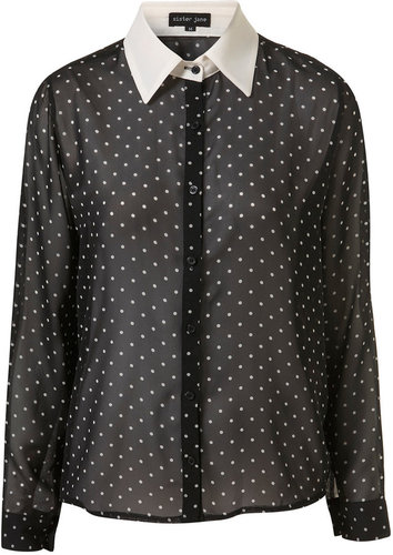 Polka Dot Blouse by Sister Jane**