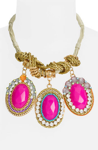 Cara Couture Multi Media Statement Necklace
