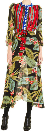 Duro Olowu Leaf Dress