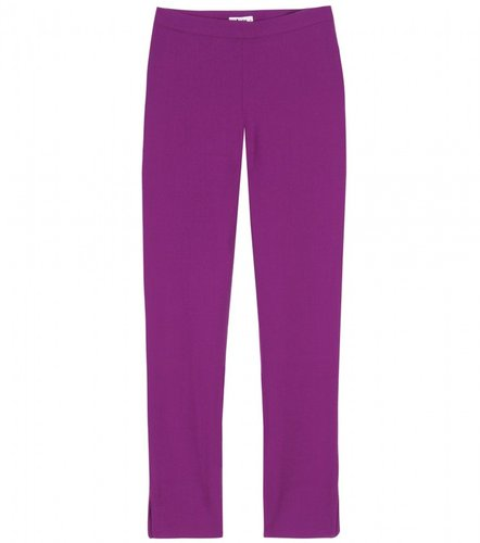 Acne LUX WOOL-CREPE CROPPED TROUSERS