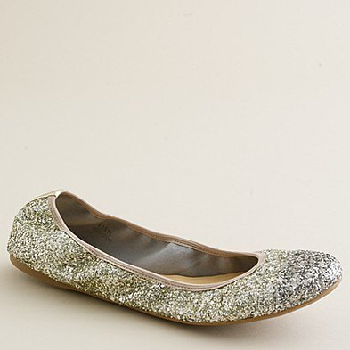 Lula glitter ballet flats