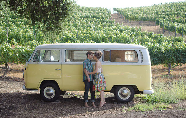 Snap a Pic by a VW Van