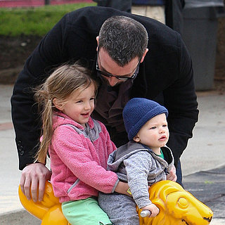 Jennifer Garner, Ben Affleck and Kids at the Park Pictures